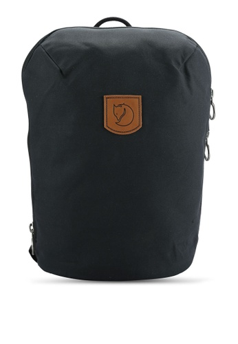 Fjallraven Kanken black Black Kiruna Small Backpack FJ382AC0RH1SMY_1