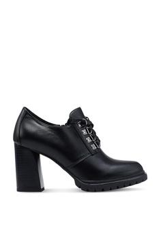 748e4ff5655 BETSY black Sadie Bootie Heels F12CBSH80CC393GS_1