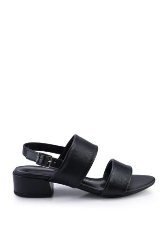 Nose 黑色 Low Heel Sandals DCC65SH7F7CFDBGS_1