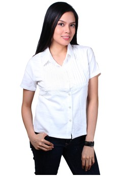 Ebony Fashionable Ladies Work Shirts/Formal Shirt