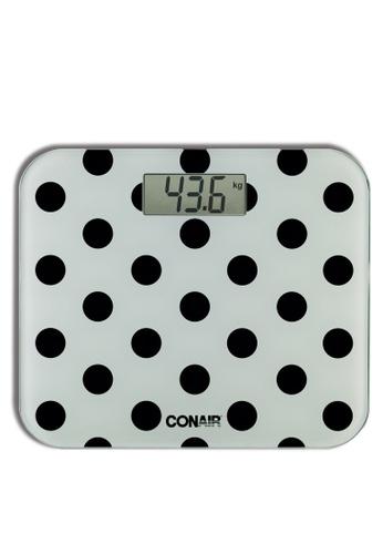 Conair multi Digital Body Scale polka dot CFF4DHLD176D92GS_1