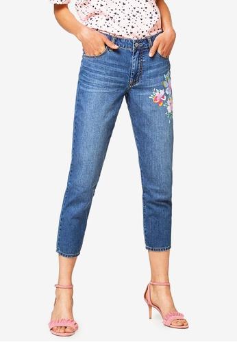 ESPRIT blue Denim Cropped Jeans 4DCF0AA143C253GS_1