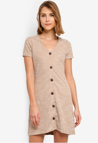 dd6e705060284 Buy Cotton On Marlow Button Through Mini Dress Online on ZALORA Singapore