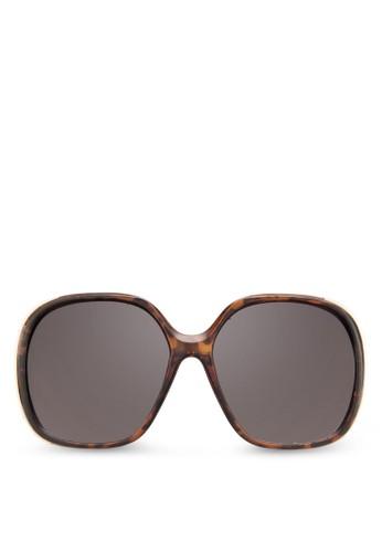 Olelalle 方框zalora taiwan 時尚購物網鞋子太陽眼鏡, 飾品配件, 大框