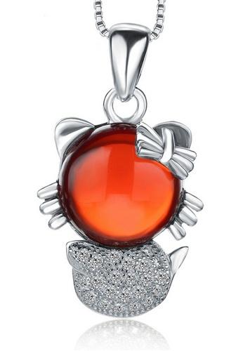 LYCKA silver LPP88163 S925 Silver Necklace 6E076AC75D5E55GS_1