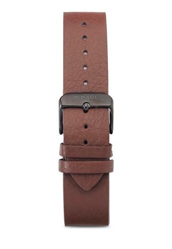 3esprit 內衣5mm 皮革錶帶, 錶類, 皮革錶帶