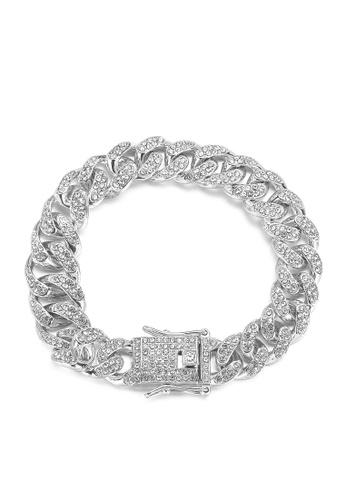 HAPPY FRIDAYS Stylish Zircon Alloy Bracelet DWX0741 CFEF9AC67D0B1FGS_1
