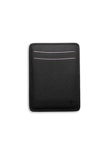 PLAIN SUPPLIES black KAS I Cardholder Wallet in Black B61B4ACEC50704GS_1