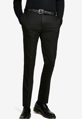 Topman black Ultra Skinny Fit Smart Trousers 03578AA85B38EEGS_1