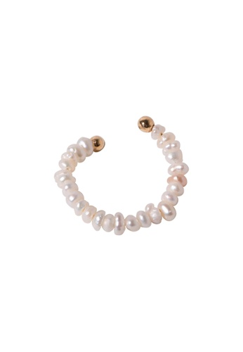 SKEDA gold Tayla Pearl Ring DCD90ACE1AC1AAGS_1