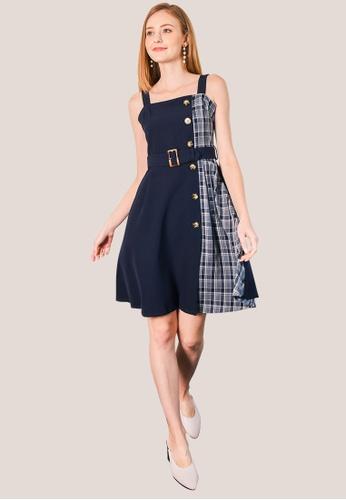 L'zzie blue LZZIE EMILY DRESS - BLUE 04883AA7E23465GS_1