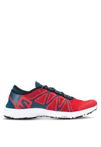 Salomon red Crossamphibian Swift Shoes D3DBCSH65658A5GS_1