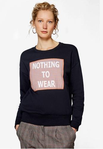 ESPRIT black Long Sleeve Sweatshirt C2132AA6D1220FGS_1