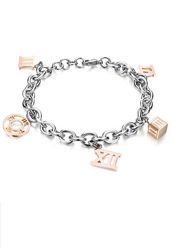 Trendyshop gold Roman Dial Bracelet 367DDAC8F5BB2FGS_1
