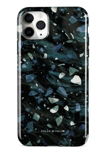 Polar Polar grey Nordic Terrazzo Gem Dual-Layer Tough Case Glossy For iPhone 11 Pro Max 25F30ACAAB7437GS_1