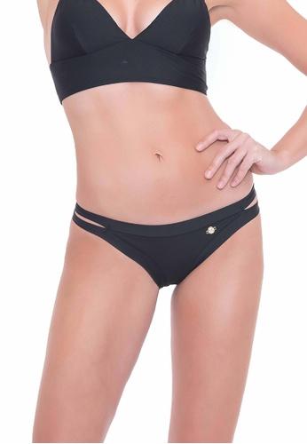 Sunseeker black Solids Double Strap Pants 3898FUS590AC0AGS_1