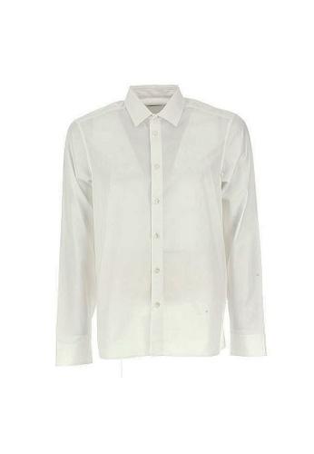 Kenzo white Kenzo Earth Print Shirt in White 1B8B3AAE11CC43GS_1