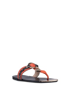 31f627d2f700 15% OFF River Island Padlock Sandals RM 239.00 NOW RM 202.90 Available in  several sizes