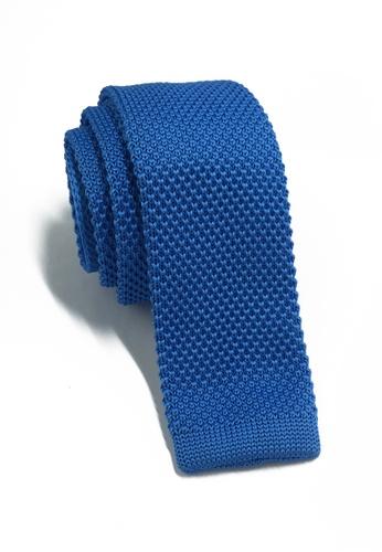 Splice Cufflinks Interlace Series Royal Blue Knitted Tie SP744AC10LPLSG_1