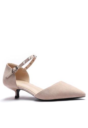 Twenty Eight Shoes Stud Textile Sandals 395-5 5AA21SHBFD16EFGS_1