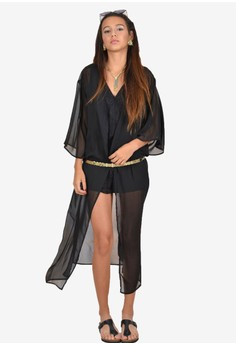 Joyce Fly Away Long Kimono