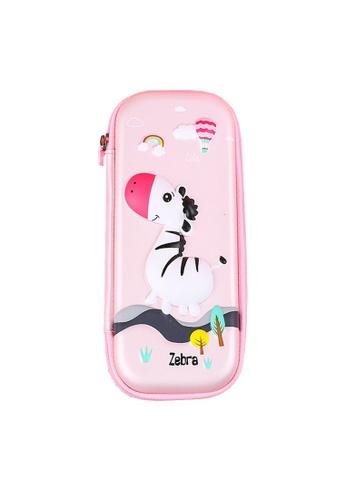 Twenty Eight Shoes pink VANSA Little Zebra Series Pencil Case  VAK-A6613 476FDKCF3ECD07GS_1