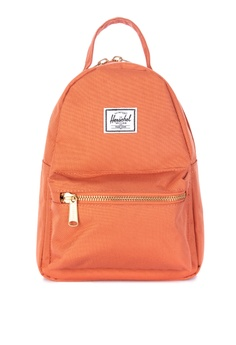6f64bab9106 Herschel orange Nova Mini Backpack 962D3AC83D6F01GS 1