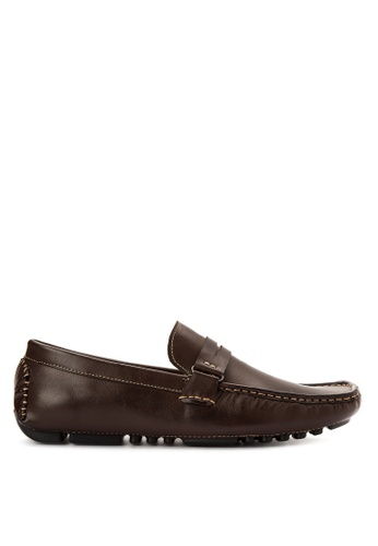 Mendrez brown James Loafers ME992SH0KG1VPH_1