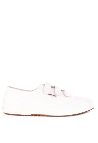 Superga white 2750-Cot3Strapu Sneakers 57AF5SH1ACF78EGS_1