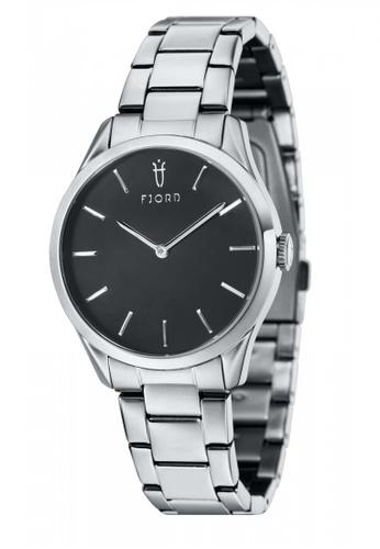 Fjord silver Fjord VENDELA FJ-6028-11 Women's Stainless Steel Bracelet Watch B0BD7AC507AC0EGS_1