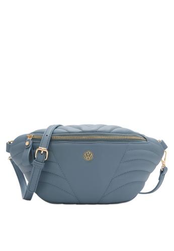 Volkswagen blue Women's Sling Bag / Crossbody Bag / Chest Bag D90ECAC1A90C6CGS_1