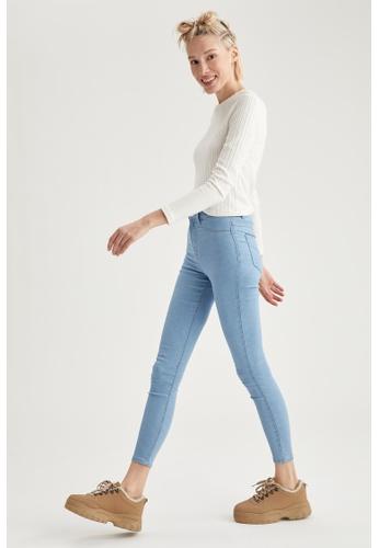 DeFacto blue High Waist Super Skinny Jeans BC3B4AA8FBE8DAGS_1
