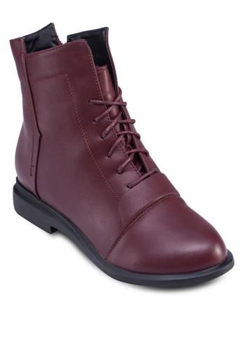 時尚繫帶踝zalora開箱靴, 女鞋, 鞋