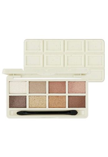 THE FACE SHOP brown The Face Shop Mono Pop Eyes 02 Cookie & Cream Chocolate 21524BE0ED620AGS_1