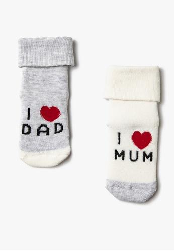 KOTON white Multipack Socks 95FE5KAD811B4BGS_1