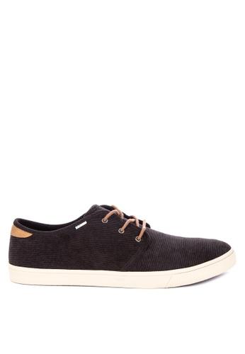 TOMS black Carlo Sneakers 76A09SH1B54907GS_1