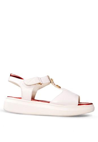 CLARETTE white Clarette Flats Kendall - White CL076SH29DYOID_1