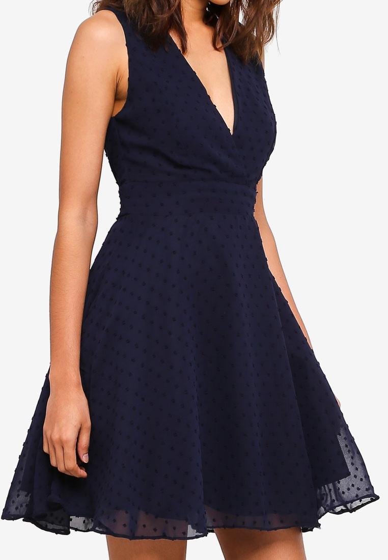 TFNC Babette Navy Babette Dress Babette Dress Navy TFNC TFNC Dress Navy qAqExnrSwZ