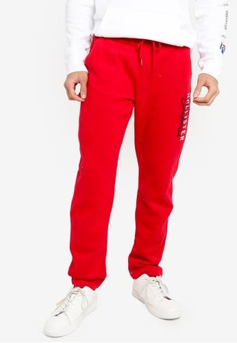 Hollister red Modern Tech Sweatpants 1F42DAA67542FEGS_1