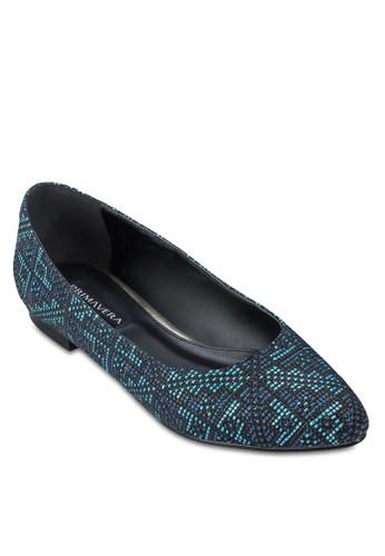 Mesprit 評價exi 編織平底鞋, 女鞋, 芭蕾平底鞋