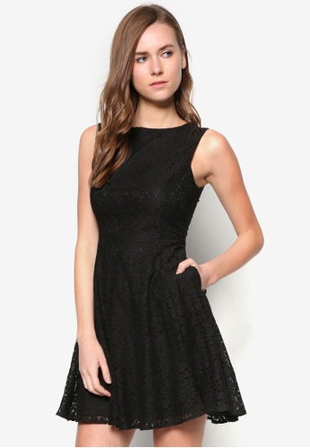 ZALORA black Collection Lace Dress AFJLOAA0000035GS_1