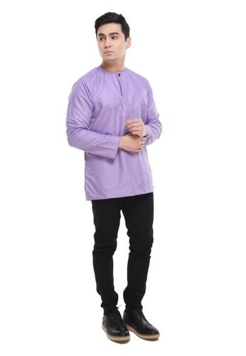 Amar Amran purple Kurta Al Amin 2.0 D5EA8AA724EBF9GS_1