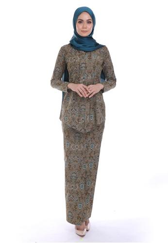 HABRA Kara Kebaya Batik KR28 from HABRA in Blue