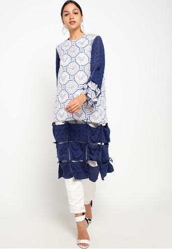 Draisal Batik blue Akiko Tunic 2 Draisal Batik 902E3AADA9C9FBGS_1