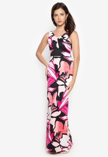 Purple Shore pink Ladonna Dress PU831AA41RMGPH_1