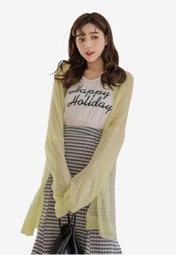 fb04d2f3c0908 Buy Tokichoi Mesh Knitted Cardigan Online on ZALORA Singapore
