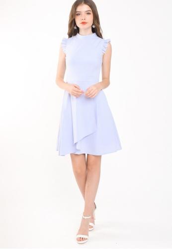 L'zzie purple LZZIE WITTEL DRESS - PURPLE BD849AA791DDE2GS_1