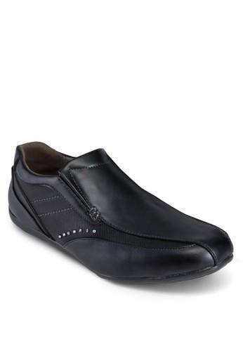 仿皮拼接休esprit 衣服閒鞋, 鞋, 鞋