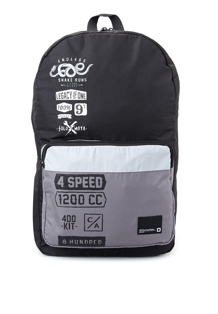 Mens Printed Backpack