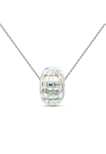 Her Jewellery multi Her Jewellery Disco Ball Pendant (Rainbow) with Necklace Chain with 18K Gold Plated 29B46AC192C574GS_1